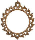 Antieke Gouden Omlijsting Royalty-vrije Stock Foto's