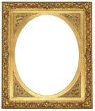 Antieke Gouden Omlijsting Royalty-vrije Stock Afbeelding