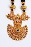 Antieke Gouden Tegenhanger Royalty-vrije Stock Afbeeldingen