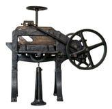 Antieke guillotine Stock Afbeelding