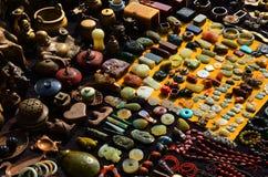 Antieke handelmarkt Stock Foto's