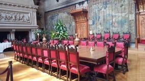 Antieke het dineren zaal stock foto's
