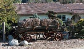 Antieke Hey-Wagen Royalty-vrije Stock Foto
