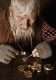 Antieke horlogemaker Stock Fotografie