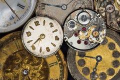 Antieke horloges Stock Afbeeldingen