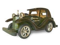 Antieke houten auto Stock Afbeeldingen