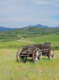 Antieke houten auto Royalty-vrije Stock Afbeelding