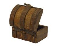 Antieke houten borst Royalty-vrije Stock Foto's