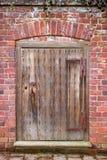 Antieke Houten Deur Royalty-vrije Stock Afbeelding
