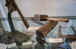 1920 Antieke houten hamer Royalty-vrije Stock Afbeeldingen