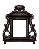Antieke houten vlam royalty-vrije stock foto