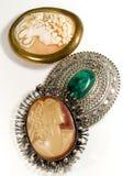 Antieke juwelen Stock Foto's