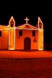 Antieke kapel in Ilhabela - Brazilië stock foto's