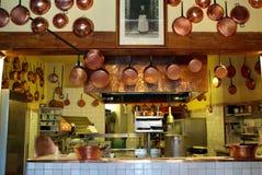 Antieke keuken Royalty-vrije Stock Afbeeldingen
