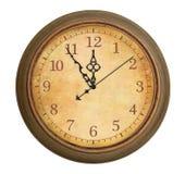 Antieke klok Royalty-vrije Stock Afbeelding