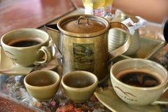 Antieke Koffie Royalty-vrije Stock Afbeelding