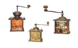 Antieke koffie-molen Royalty-vrije Stock Foto