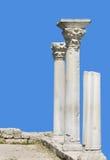 Antieke kolommen Royalty-vrije Stock Afbeelding