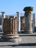 Antieke kolommen stock foto