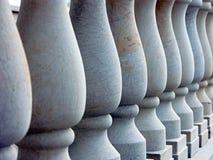 Antieke kolommen royalty-vrije stock foto's