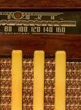 Antieke korte golfradio stock foto