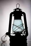 Antieke lamp, eind van de wereld, Royalty-vrije Stock Fotografie