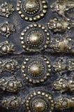 Antieke metaalhulp Stock Afbeeldingen
