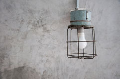 Antieke minimale lamp Royalty-vrije Stock Foto