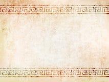 Antieke muur als achtergrond met barsten Vector illustratie Vector Illustratie