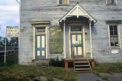 Antieke opslag in Moorefield, WV op Weg, Route 220 Royalty-vrije Stock Foto's