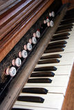 Antieke organ02 Royalty-vrije Stock Foto