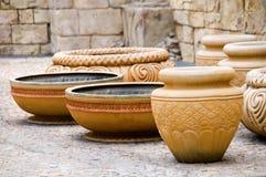 Antieke oude potteries Stock Fotografie