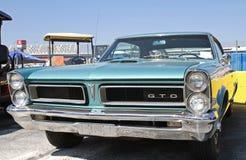 Antieke Pontiac-Auto Stock Afbeeldingen