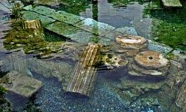 Antieke pool Stock Foto's
