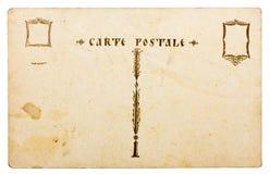 Antieke prentbriefkaar Royalty-vrije Stock Foto's