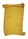 Antieke rolachtergrond stock illustratie