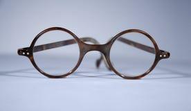 Antieke ronde bril Royalty-vrije Stock Foto's