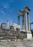 Antieke ruïnes in Ephesus Stock Foto