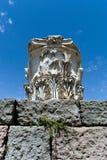 Antieke ruïnes in Ephesus Royalty-vrije Stock Afbeelding