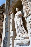 Antieke ruïnes in Ephesus Royalty-vrije Stock Fotografie
