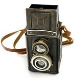 Antieke Russische Camera TLR Royalty-vrije Stock Afbeeldingen