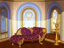 Antieke salon Royalty-vrije Stock Foto's