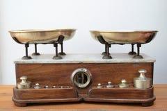 Antieke schaal Stock Foto
