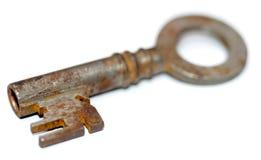 Antieke sleutel 1 stock afbeeldingen