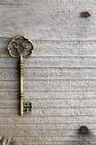 Antieke sleutel Stock Fotografie