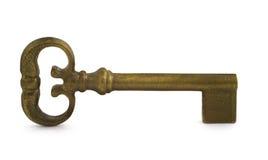 Antieke sleutel royalty-vrije stock afbeelding