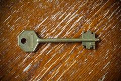Antieke sleutel. Royalty-vrije Stock Afbeelding