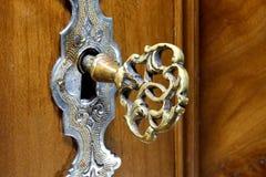 Antieke sleutel Royalty-vrije Stock Foto