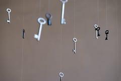 Antieke sleutel Royalty-vrije Stock Afbeeldingen