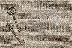 Antieke sleutels Royalty-vrije Stock Fotografie